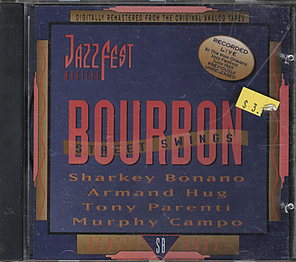 Sharkey Bonano CD