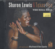 Sharon Lewis & Texas Fire CD