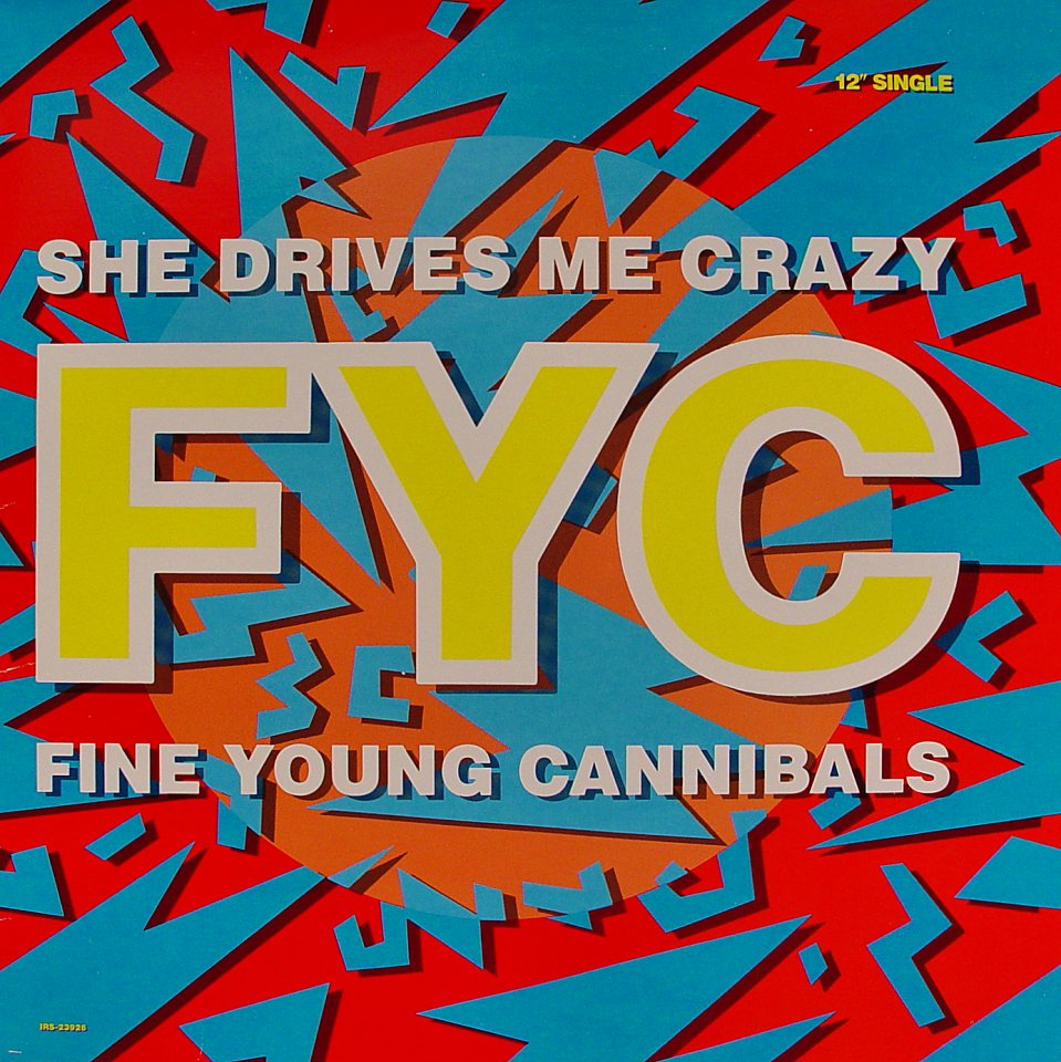 """She Drives Me Crazy Vinyl 12"""" (Used)"""