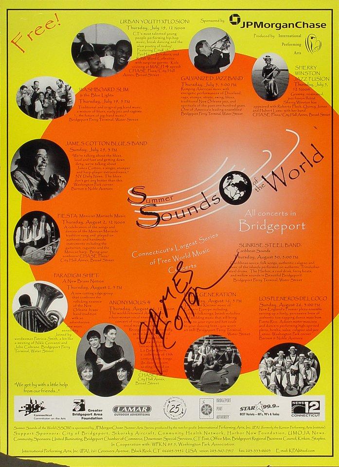 Sherry Winston Jazz Fusion Poster
