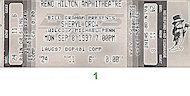Sheryl Crow Vintage Ticket