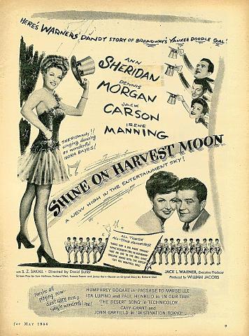 Shine On Harvest Moon Vintage Ad