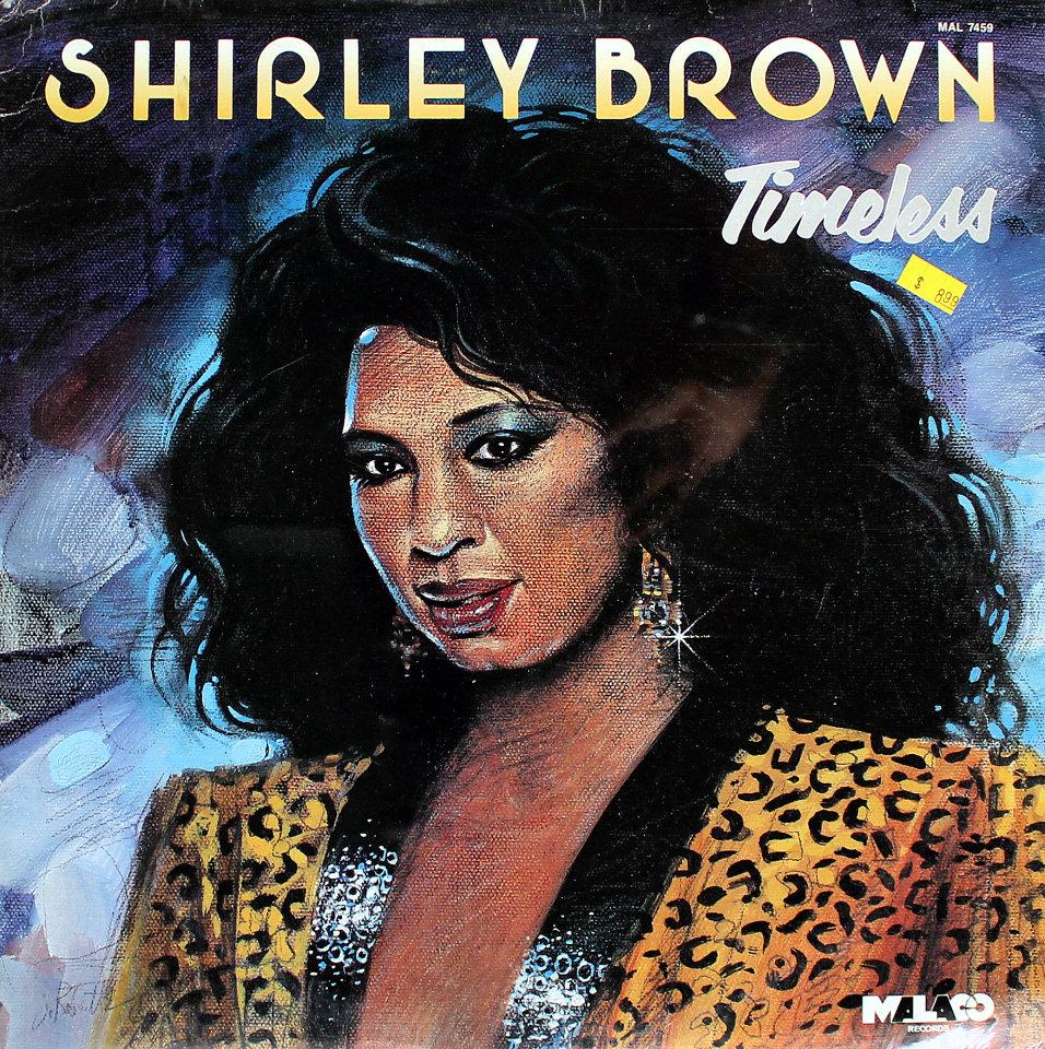 "Shirley Brown Vinyl 12"" (New)"