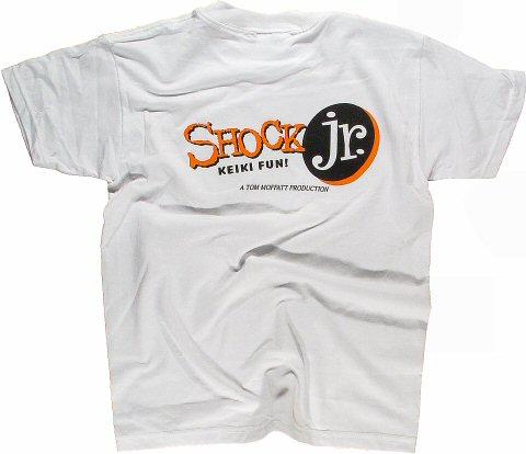 Shock House 2000 Kid's Vintage T-Shirt reverse side