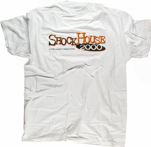 Shock House 2000 Men's Vintage T-Shirt reverse side