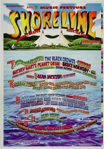 Shoreline Amphitheatre: August Proof