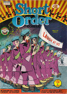 Short Order Comix #2 Comic Book