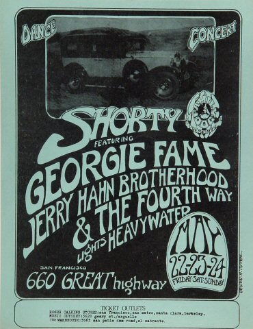 Shorty Handbill