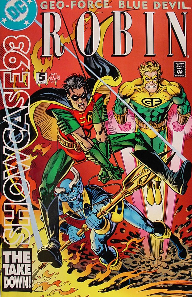 Showcase '93 Comic Book