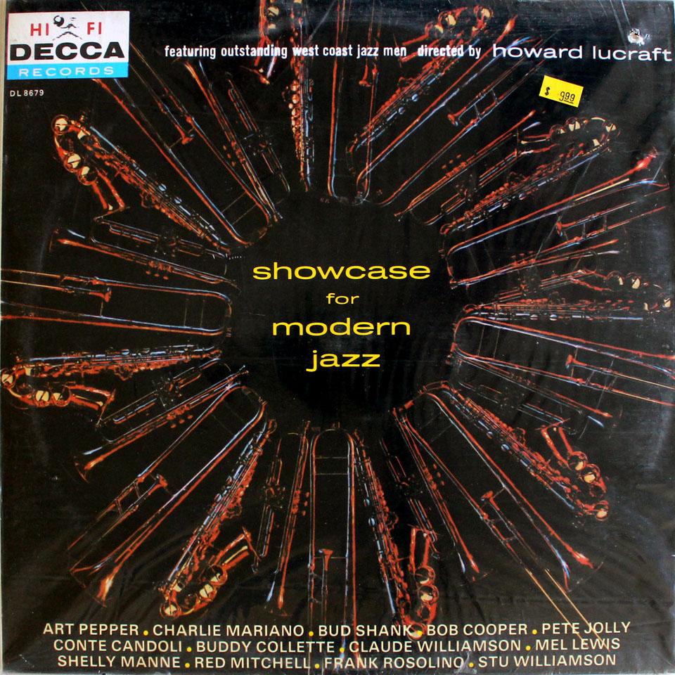 "Showcase For Modern Jazz Vinyl 12"" (New)"