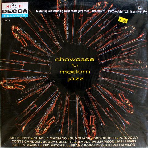 "Showcase For Modern Jazz Vinyl 12"" (New)"