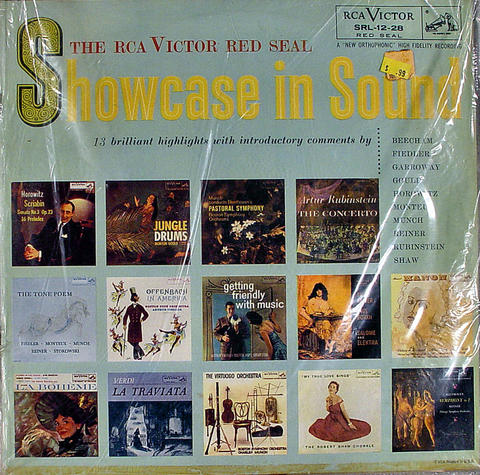 "Showcase In Sound Vinyl 12"" (Used)"