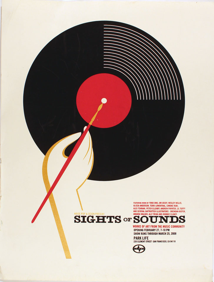 Sights Of Sounds Poster