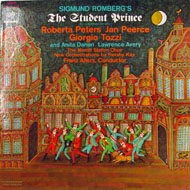 "Sigmund Romberg's: The Student Prince Vinyl 12"" (Used)"