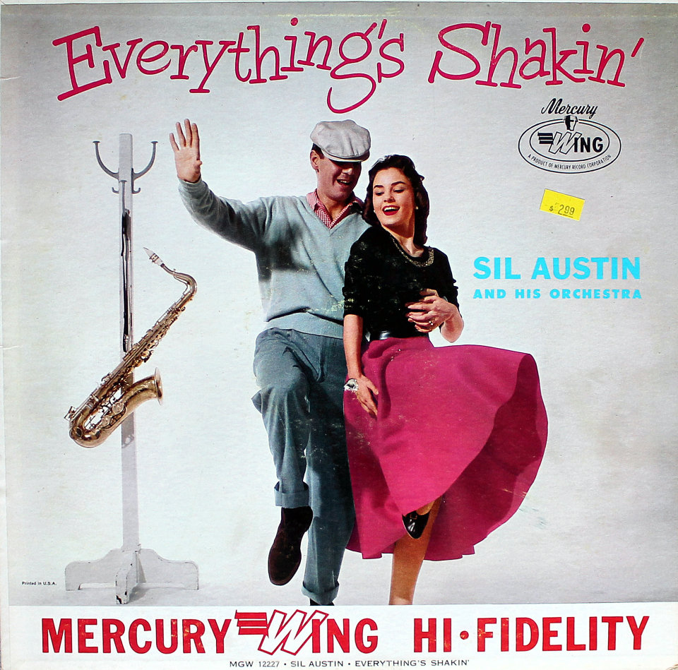 """Sil Austin And His Orchestra Vinyl 12"""" (Used)"""