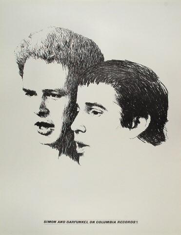 Simon & Garfunkel Poster