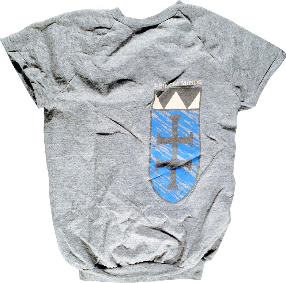 Simple Minds Men's Vintage Sweatshirts reverse side