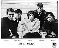 Simple Minds Promo Print