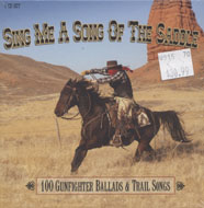 Sing Me A Song Of The Saddle CD