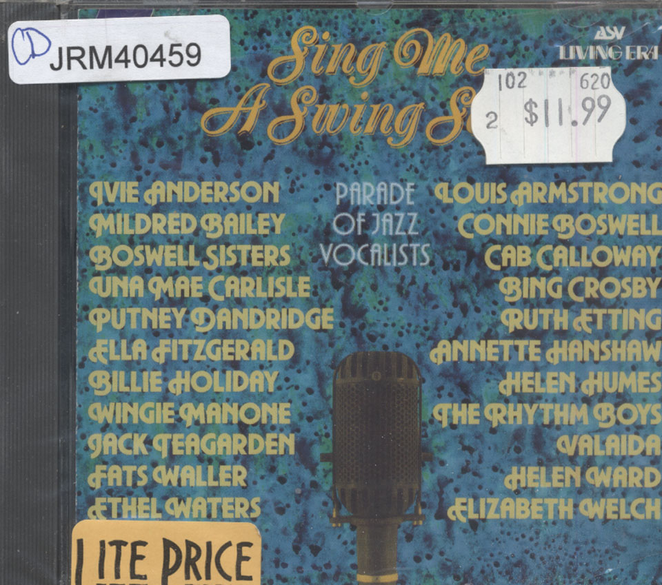 Sing Me A Swing Song CD