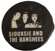 Siouxsie & the Banshees Pin