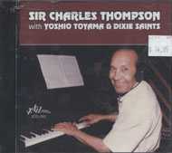 Sir Charles Thompson with Yoshio Toyama & Dixie Saints CD