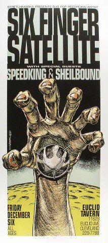 Six Finger Satellite Poster