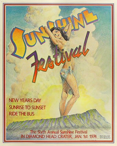 Sixth Annual Sunshine Festival Poster