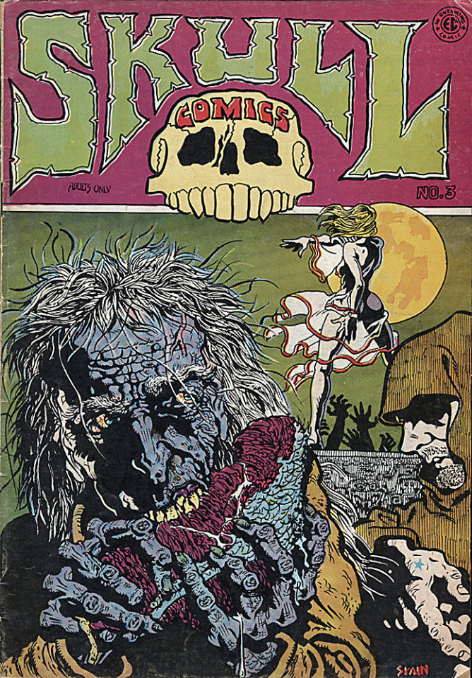 Skull Comics #3 Comic Book