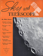 Sky and Telescope Vol. XVIII No. 9 Magazine