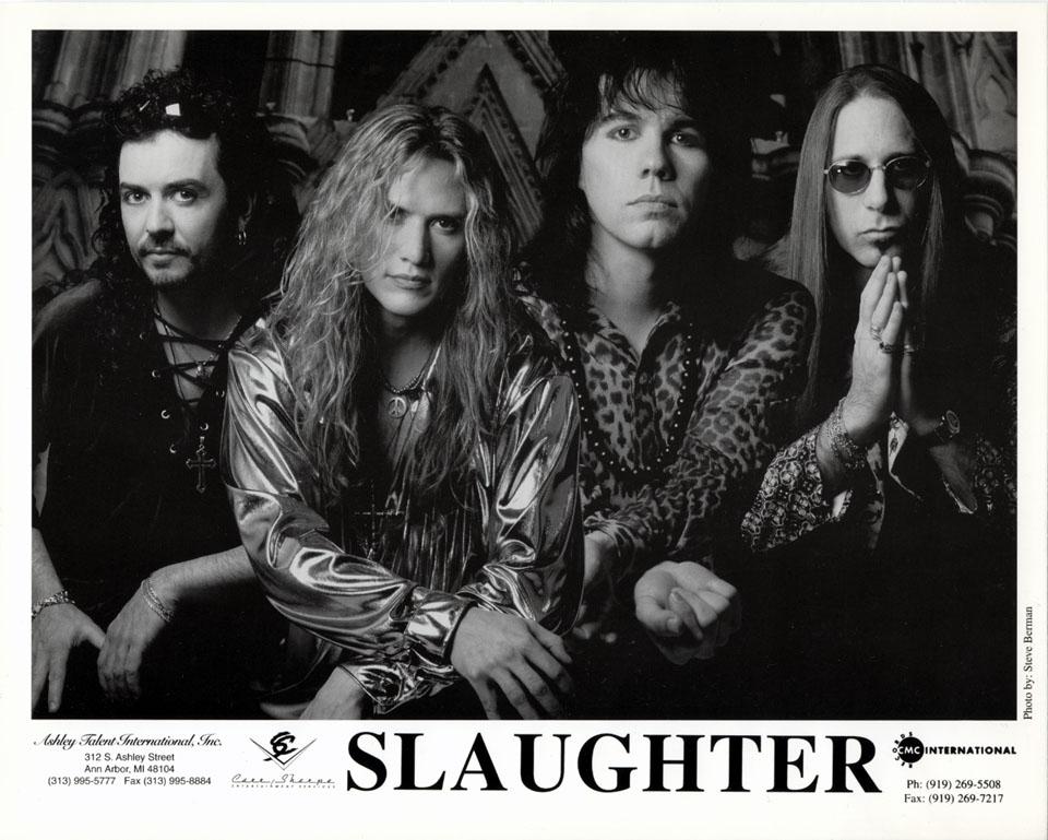 Slaughter Promo Print