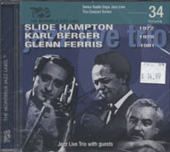 Slide Hampton / Karl Berger / Glenn Ferris CD