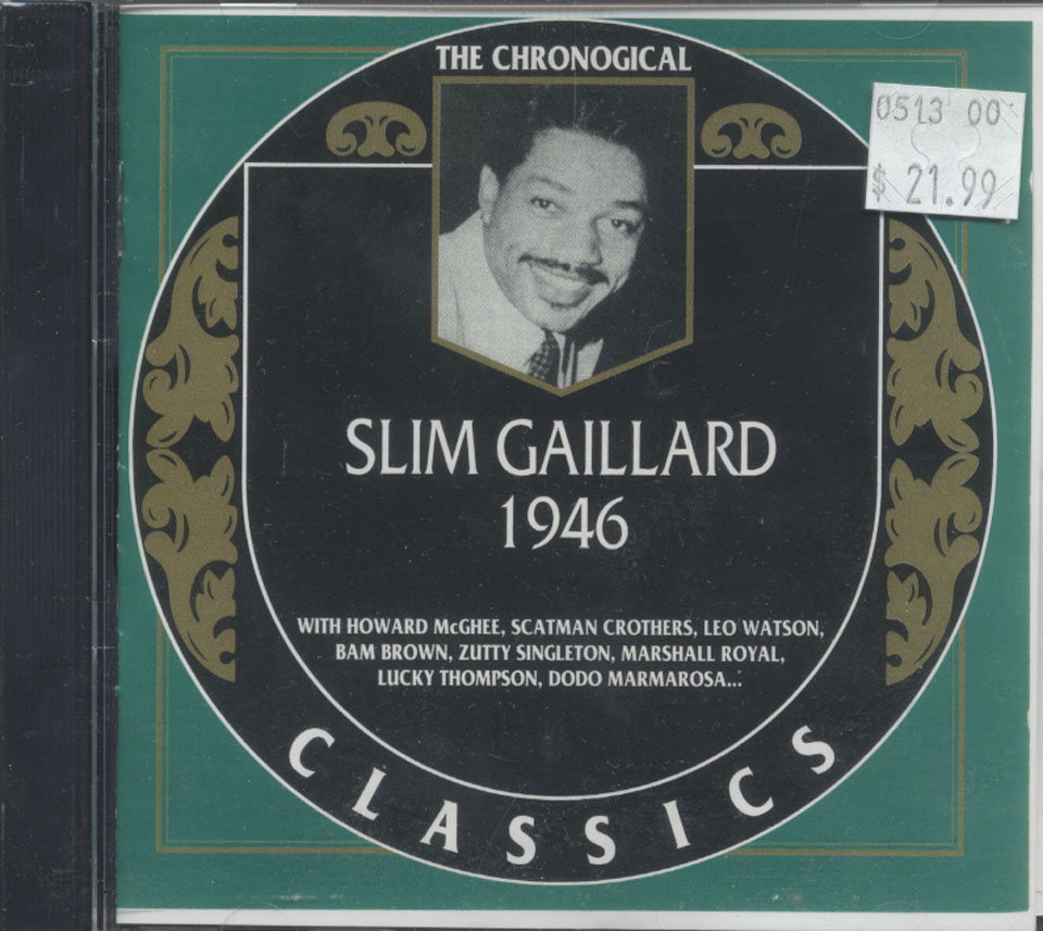 Slim Gaillard CD