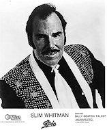 Slim Whitman Promo Print