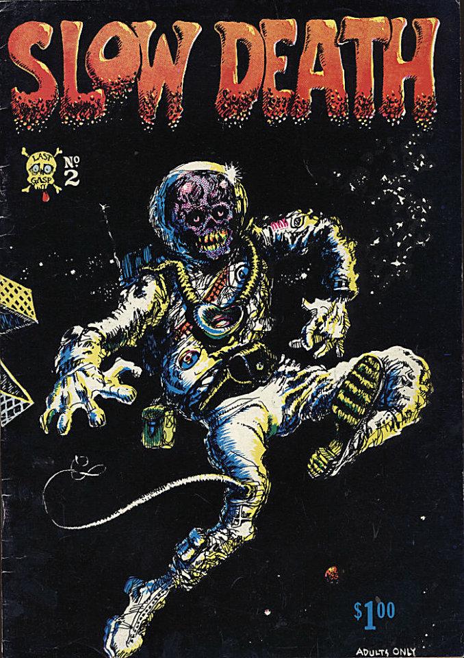 Slow Death #2 Comic Book