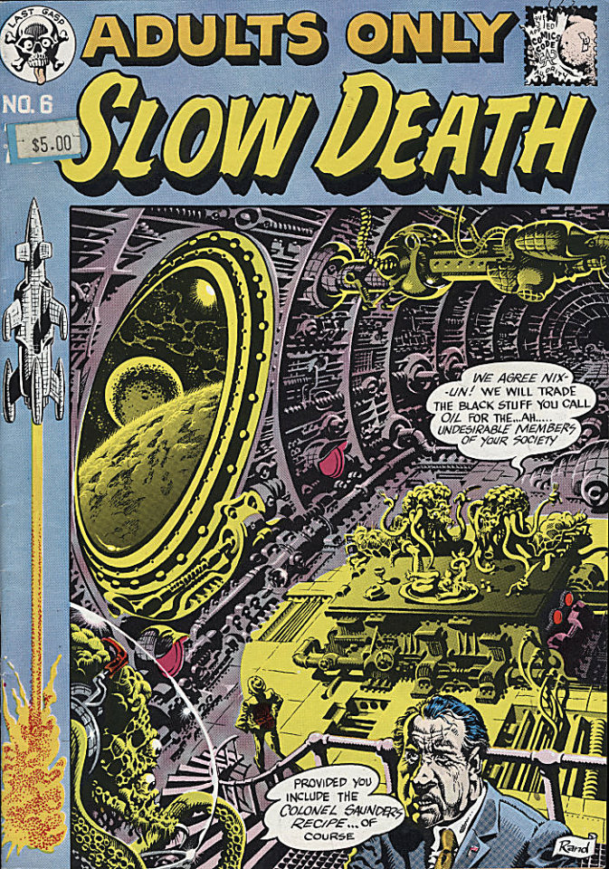 Slow Death #6 Comic Book