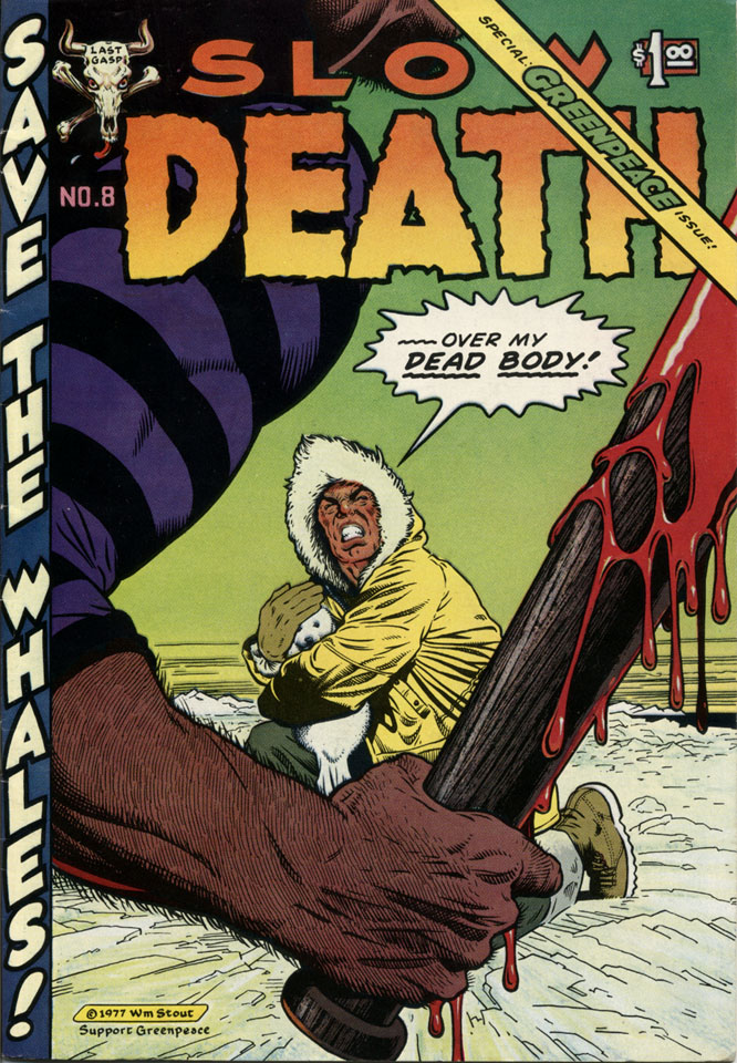 Slow Death No. 8 Comic Book