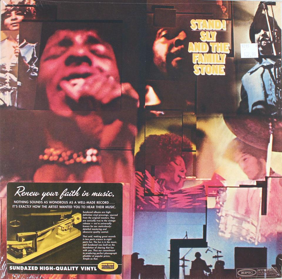 """Sly & the Family Stone Vinyl 12"""" (New)"""