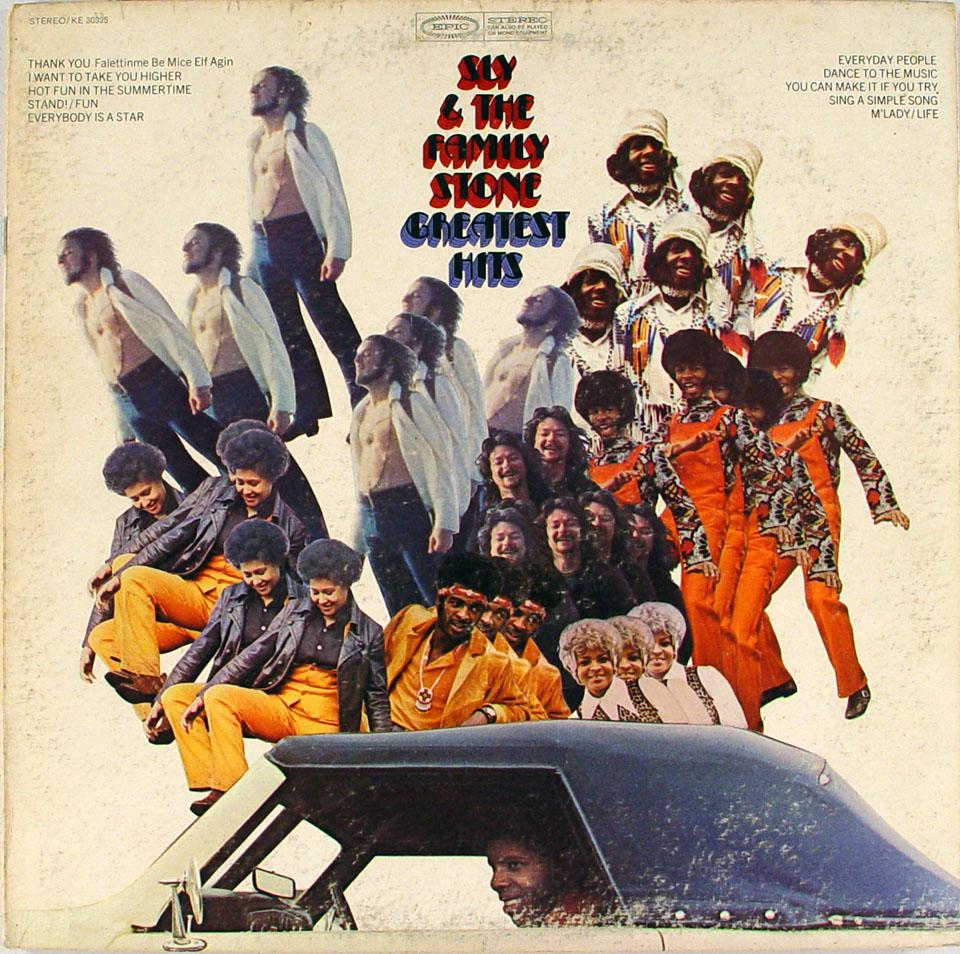 "Sly & the Family Stone Vinyl 12"" (Used)"