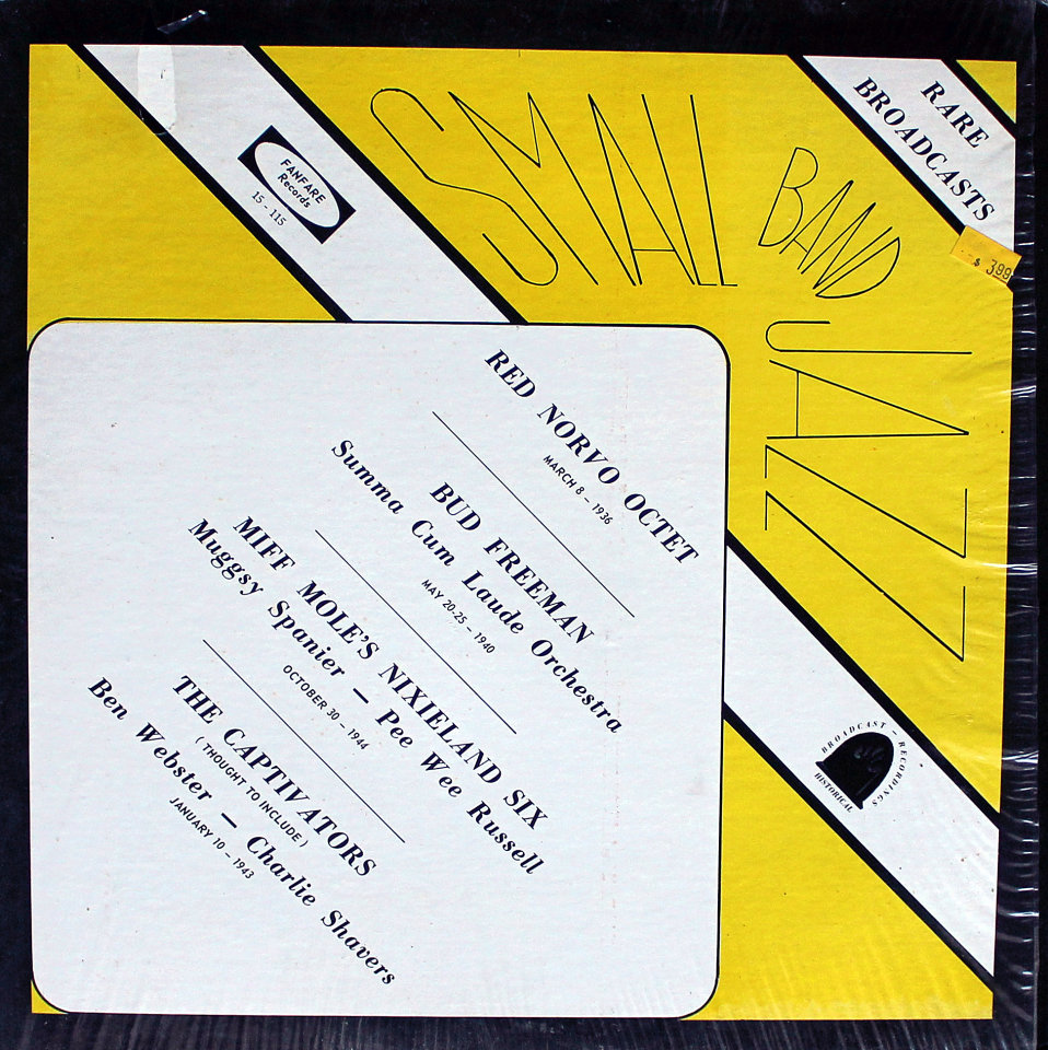 "Small Band Jazz Vinyl 12"" (Used)"