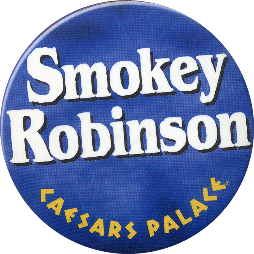 Smokey Robinson Pin