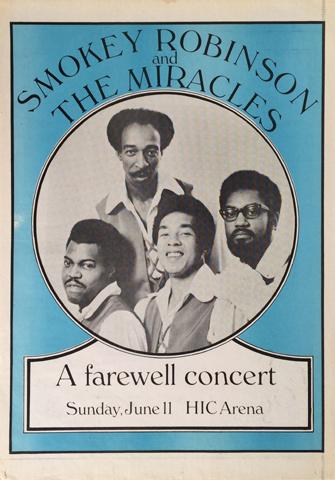 Smokey Robinson Poster