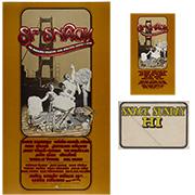 SNACK Benefit Poster/Handbill/Backstage Pass Bundle