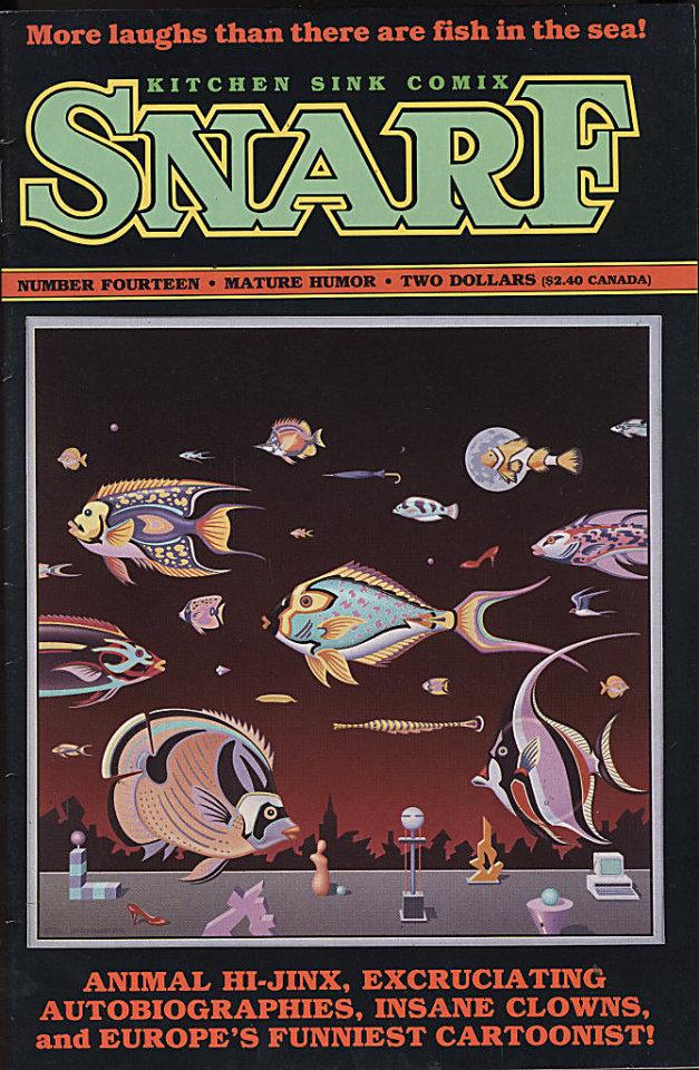 Snarf #14 Comic Book