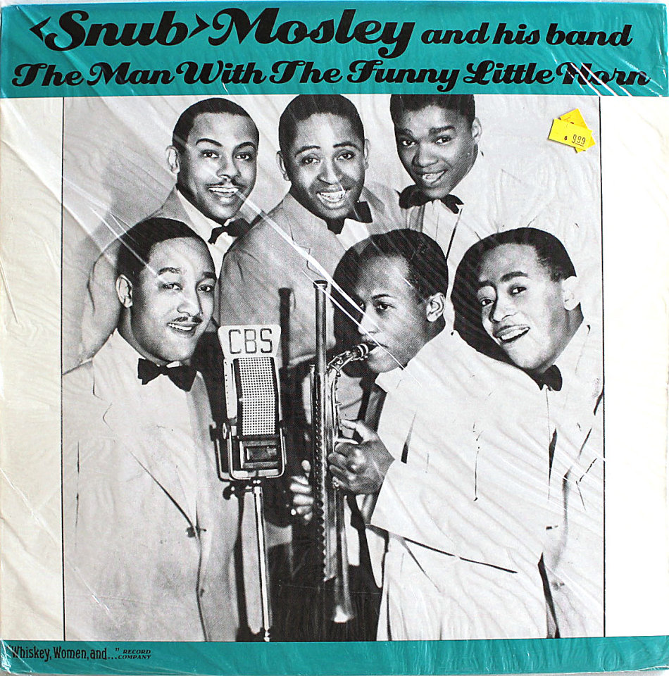 """""""Snub"""" Mosley And His Band Vinyl 12"""" (New)"""