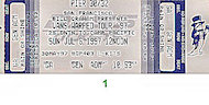Social Distortion Vintage Ticket
