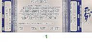 Social Distortion Vintage Ticket