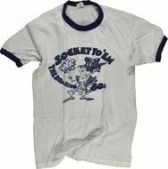 Sock It To 'Em…The Roaring '80's Men's Vintage T-Shirt