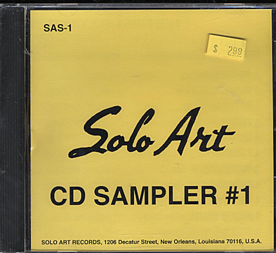 Solo Art CD Sampler #1 CD