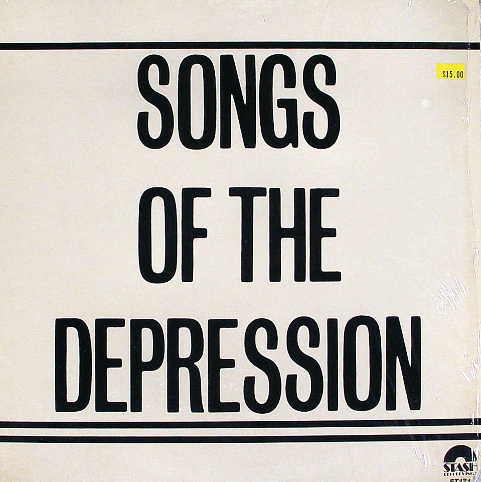 """Songs of the Depression Vinyl 12"""" (New)"""